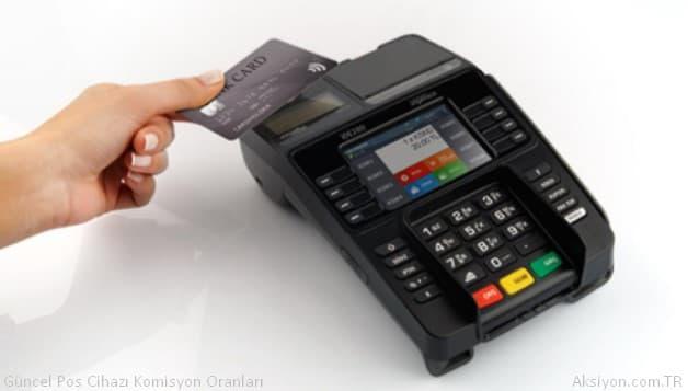 Bankaların Güncel Pos Cihazı Komisyon Oranları
