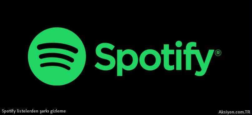 Spotify Şarkı Gizleme Nasıl Yapılır ?